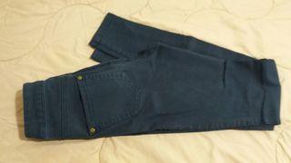 Pantalón Azul Bershka Mujer