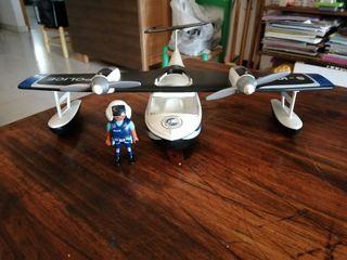 playmobil avion policia