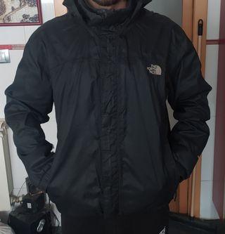 abrigo cortavientos north face