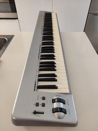 Piano controlador M-AUDIO KEYSTATION 88es