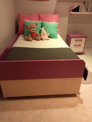 cama nido con cajoneras