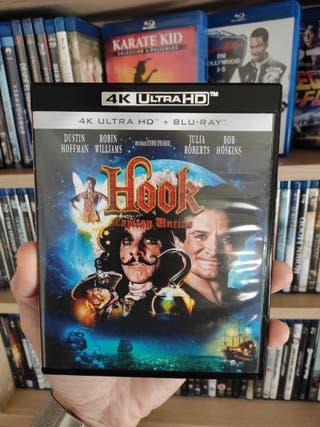 HOOK (4K HD + BLURAY)