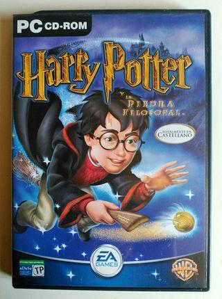 HARRY POTTER Y LA PIEDRA FILOSOFAL PC CD ROM JUEGO