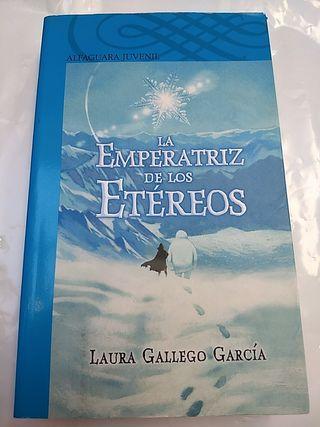 Libro juvenil La emperatriz de los Etéreos