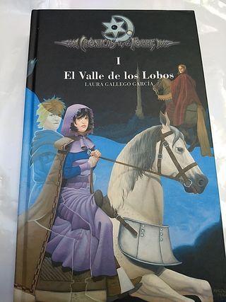 Libro juvenil El valle de los Lobos