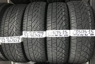 Juego neumáticos 235/75-15 michelin