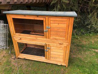 Caseta para conejos