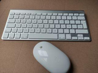 Teclado y ratón Apple inalámbrico bluetooth