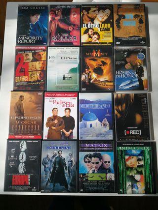 Películas en DVD originales (set 1)