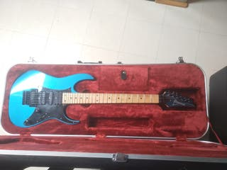 Ibanez RG 550 Lazer Blue 1990 con estuche Prestige