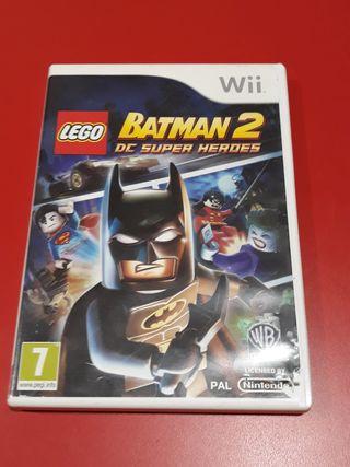 Wii Lego Batman 2 DC Súper Héroes
