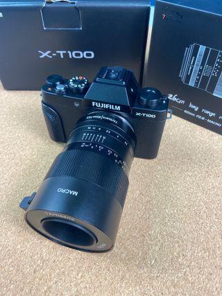 Fujifilm XT-100 + 60mm macro 2.8