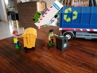 playmobil camion de la basura