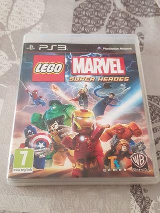 JUEGO LEGO MARVEL SUPERHEROES PS3