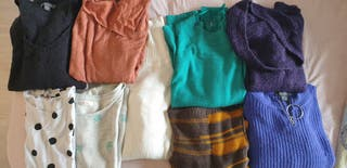 lote jerséis y camisetas