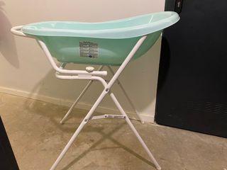 Bañera bebé con patas