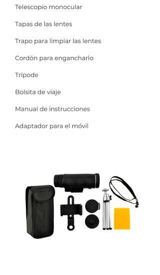 telescopio para móvil