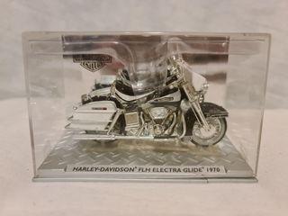 Maqueta de Moto Harley-Davidson FLH Electra Glide