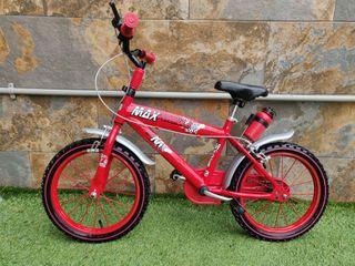 Bicicleta para niñ@ 16 pulgadas