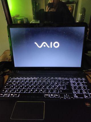 Portátil Sony Vaio sve1512w1eb