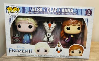 Funko Pop Elsa Olaf Anna. Three Pack. Frozen II