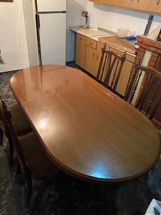 Lote de muebles antiguos