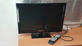 Televisor NEVIR LED con TDT en HD de 19 pulgadas