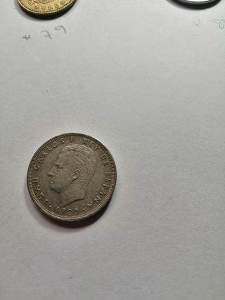 5 pesetas conmemorativa mundial 82