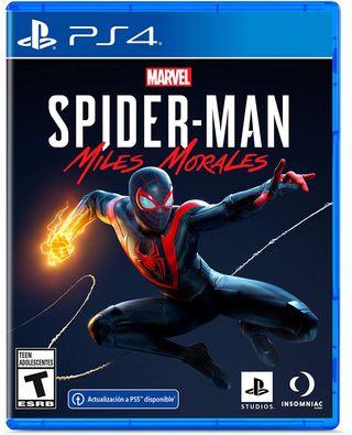 Spiderman Miles morales Videojuego para ps4 y ps5