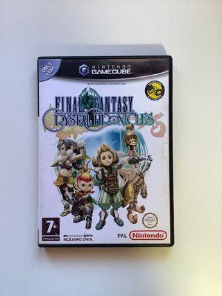Final Fantasy Crystal Chronicles GameCube Español