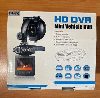 Mini Cámara Vehículo coche HD DVR