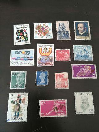 colección de sellos España