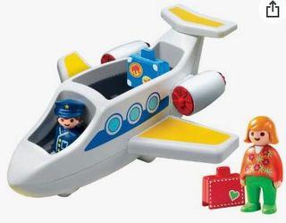 Avión Playmobil 123