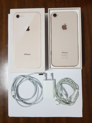 Iphone 8 Gold. 64GB impecable con accesorios
