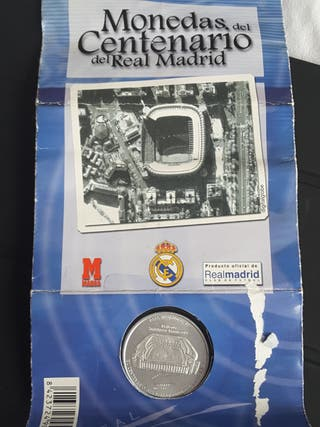 Moneda Centenario Real Madrid 1902-2002