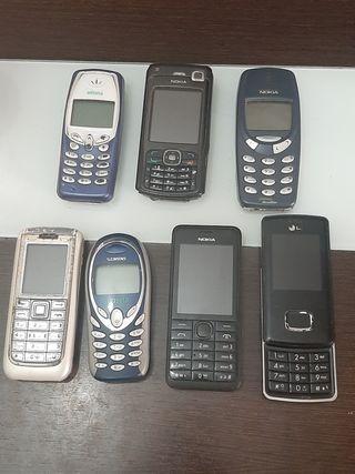 móviles antiguos Nokia etc