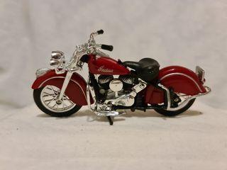 Maqueta de Moto Indian Chief Red Roadmaster