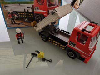 Camion grúa playmobil
