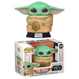 FUNKO POP THE CHILD WITH BAG THE MANDALORIAN