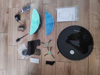 Robot aspirador programable, aspira,friega, Wi-Fi