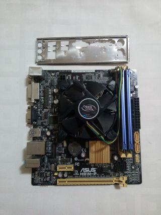 Placa 1150 + procesador + ram ddr3