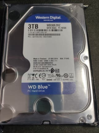 Disco duro 3TB WD Blue