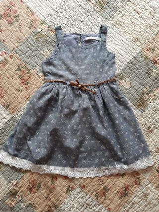 Lote vestidos niña fiesta 4-6 años