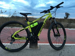 Ebike Haibike Bici montaña 29 eléctrica 630w 90nm