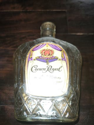 botella crown royal