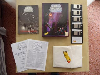 Juego X-Wing 1993 PC discos 3.5 completo