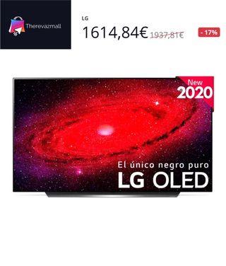 LG 55CX6LA TELEVISOR 55'' OLED UHD 4K Smart tv