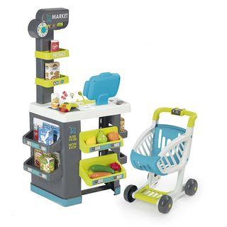 Supermercado city market con carrito INFANTIL