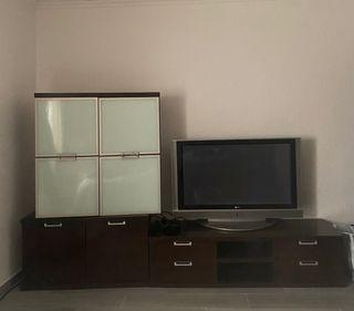 Mueble comedor más televisión