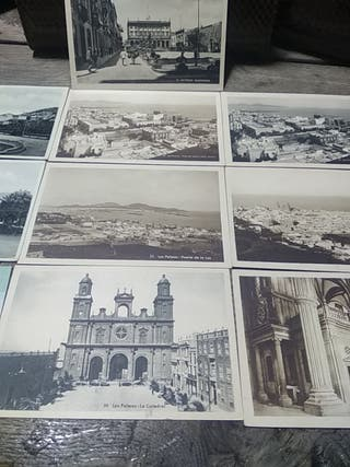 antiguas tarjetas postales de las Palmas